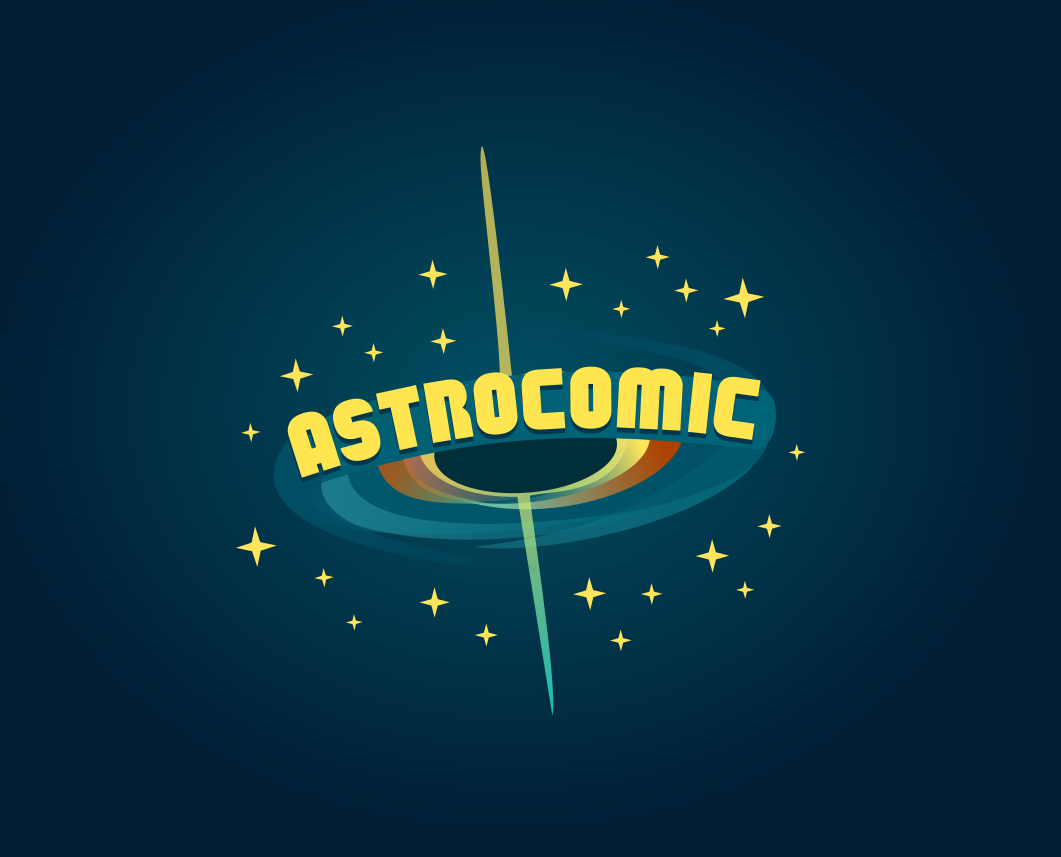 Logo design for Astrocomic. Designed by Johnery