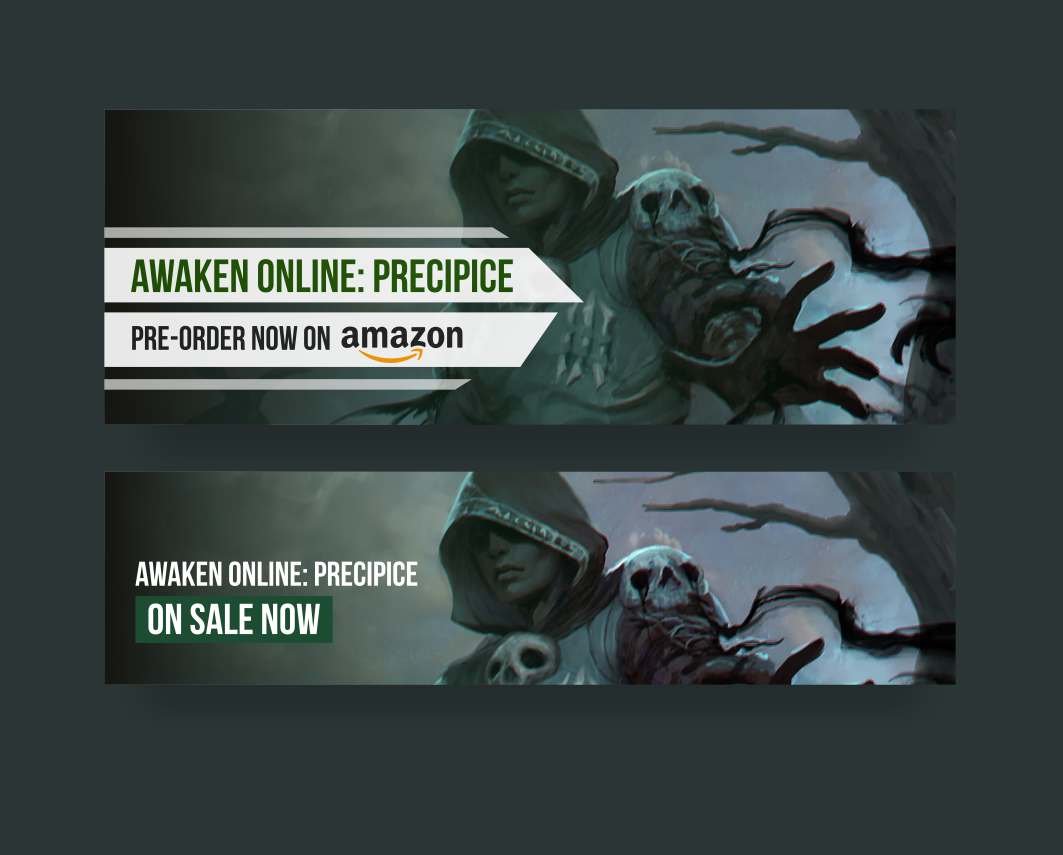Ad design for Awaken Online