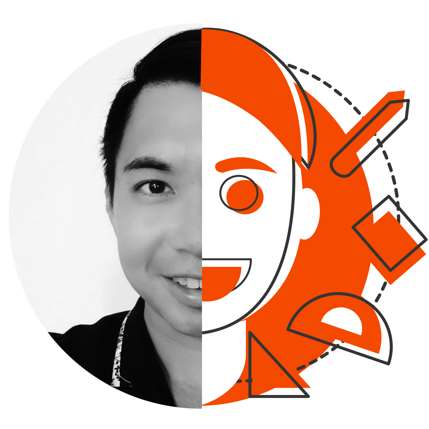 John Poh, senior graphic designer for businesses and brands